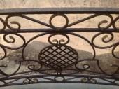 Кованый балкон №1