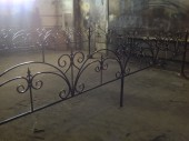 Кованая оградка №10