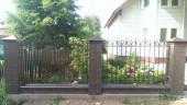 Кованый забор №3