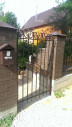 Кованые ворота и калитка №5