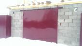 Ворота и дверь в гараж