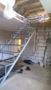 Лестница №3 (с поворотной площадкой)