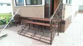 Кованая лестница №6