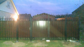 Кованые ворота и калитка №7