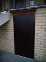 Дверь №1 + козырёк