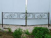 Кованая оградка №14