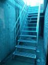 Каркас лестницы с перилами №2