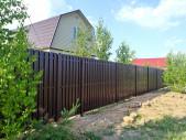 Забор из Евроштакетника + ворота и калитка