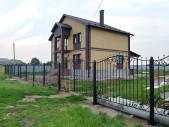 Кованый забор №10