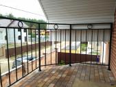 Кованый балкон №7