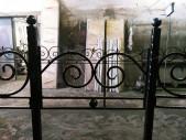 Кованая оградка №17