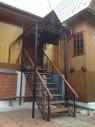 Кованая лестница №3
