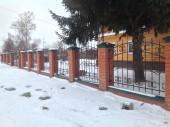 Кованый забор №1