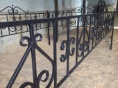 Кованая оградка №3